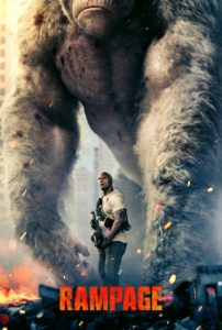 "Poster for the movie ""Rampage"""