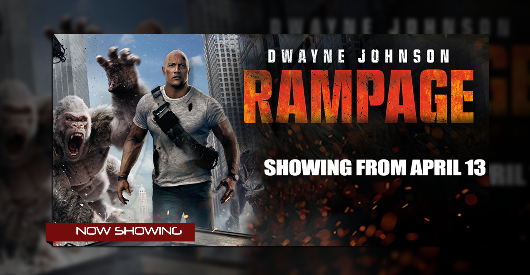 rampage film 2018 distribution